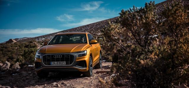 esterni nuova Audi Q8 2018