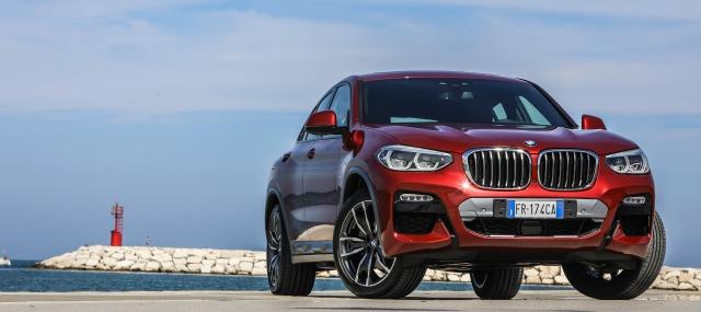 esterni nuova BMW X4