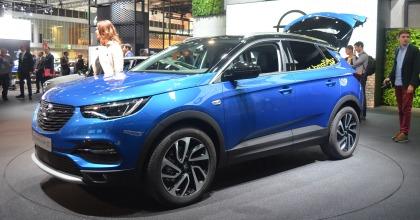 esterni nuova Opel Grandland X, Salone di Francoforte
