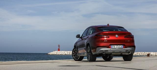 lancio nuova BMW X4