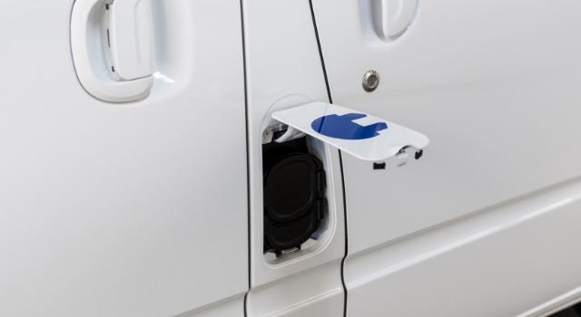 Maxus EV80 elettrico ricarica