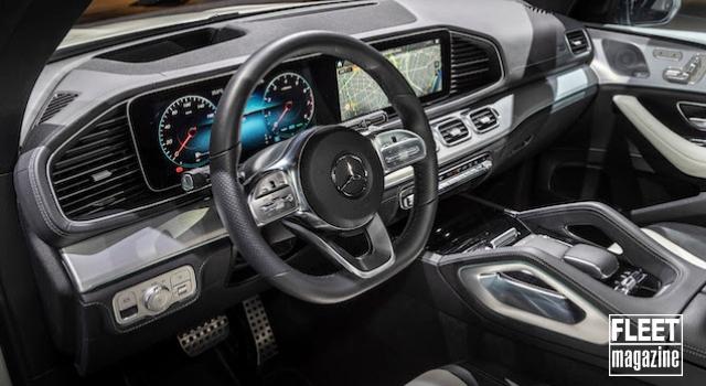 Interni di nuova Mercedes GLE
