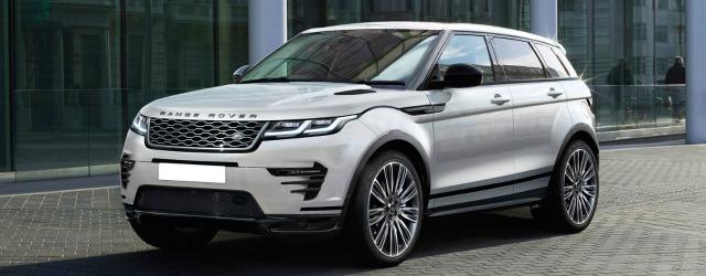 novita auto Jaguar Land Rover Evoque 2019