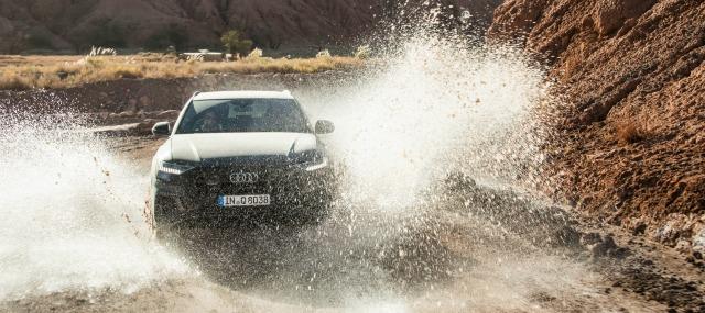nuova Audi Q8 2019 off road auto a trazione integrale