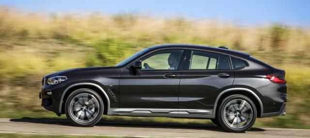 nuova BMW X4 2018 segreti