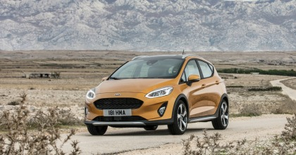 Gamma Active Ford, nuova Ford Fiesta Active 2018 dinamica