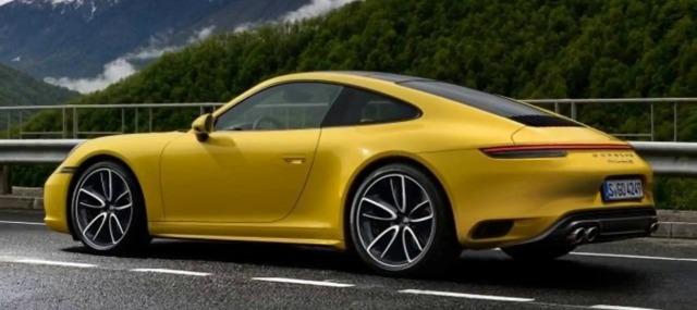 nuova Porsche 911 2019