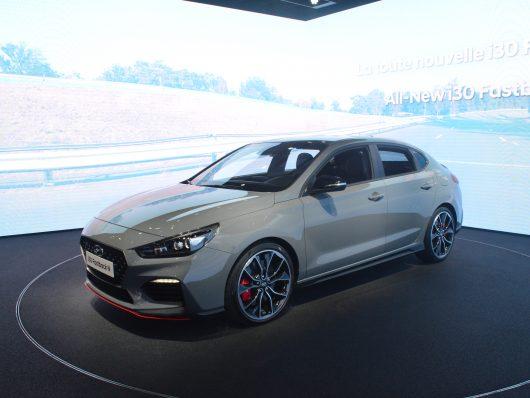 Nuova Hyundai i30 fastback al salone di parigi 2018