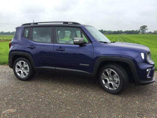 Nuova Jeep Renegade 2019, esterni