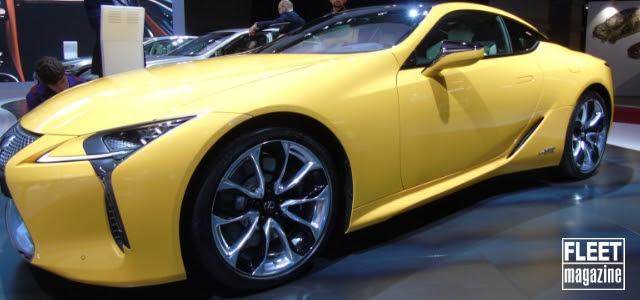 lexus lc yellow edition al salone di parigi 2018