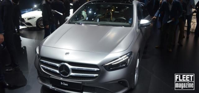 Mercedes Classe B al Salone di Parigi 2018