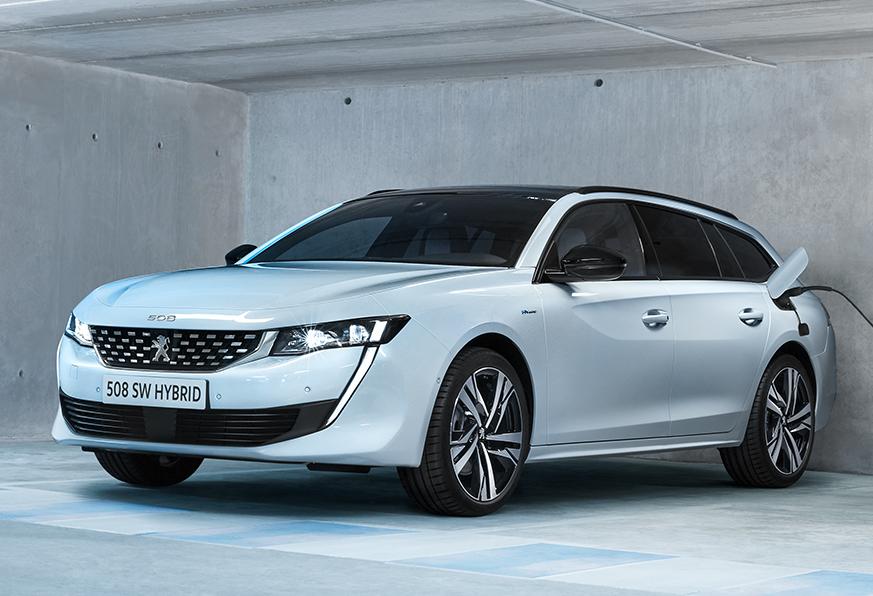 Nuova Peugeot 508 hybrid esterni