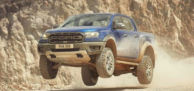 nuovo Ford Ranger Raptor 2019