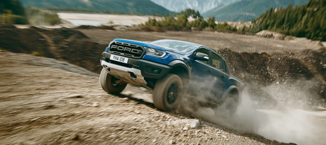 nuovo Ford Ranger Raptor 2019 off road