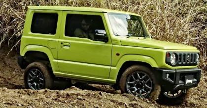 nuovo Suzuki Jimny montagna