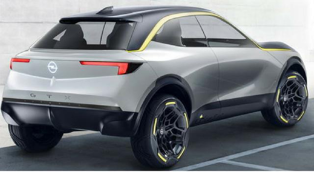 Opel GT X Experimental, nuova concept car
