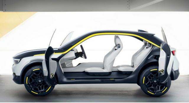 Opel GT X Experimental, interni