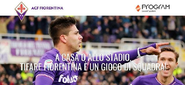 Accordo tra Program e squadra di calcio Fiorentina