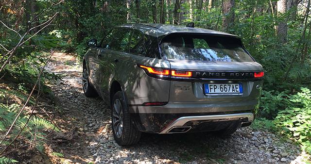 recensione Range Rover Velar