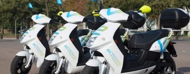 servizi scooter sharing milano: elettrico eCooltra