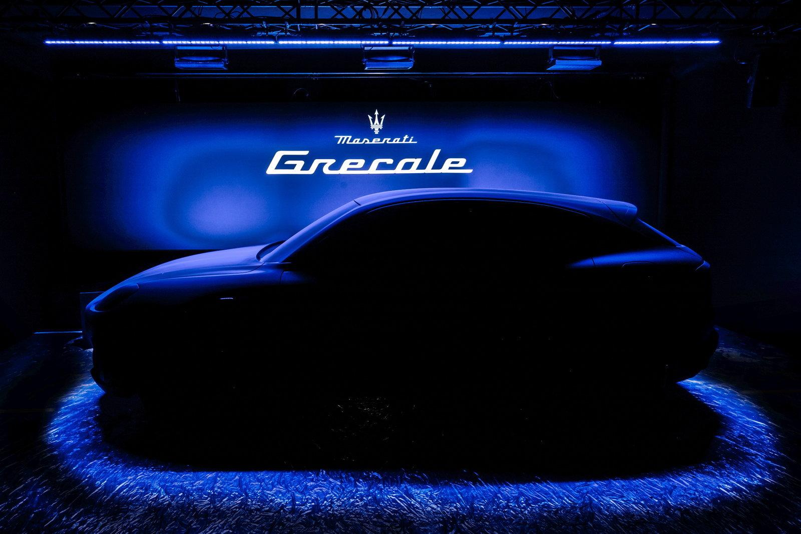 teaser nuova Maserati Grecale