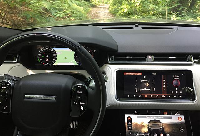 tecnologia Range Rover Velar
