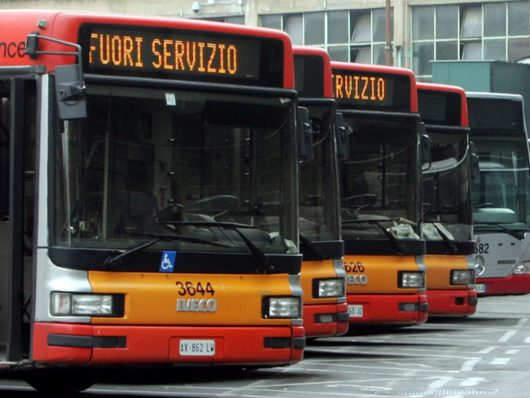 il 26 ottobre 2018 sciopero nazionale dei trasporti pubblici e privati