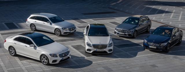 Auto ibride plug-in Mercedes-Benz modelli