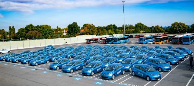 Car sharing elettrico Corrente Bologna