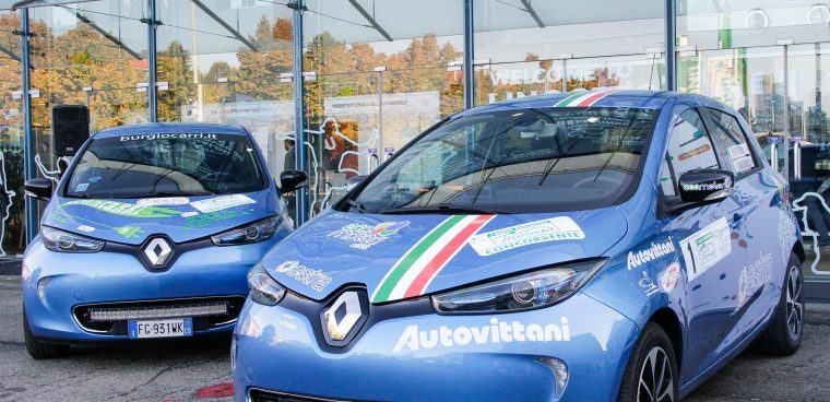 Renault Zoe vince il campionato italiano di energy saving