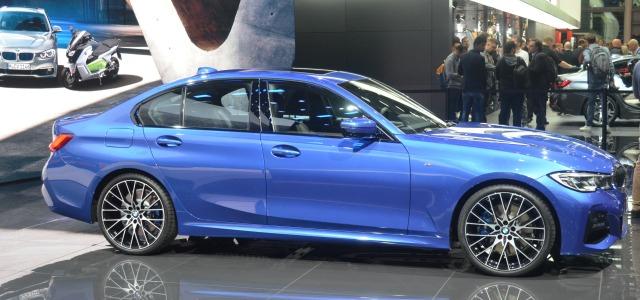 Esterni nuova BMW Serie 3