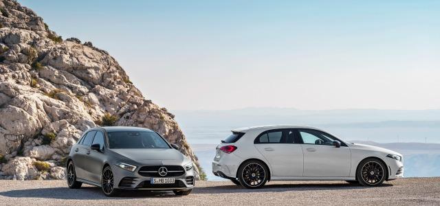 Esterni nuova Mercedes Classe A
