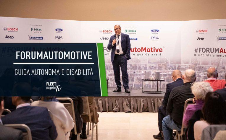 Forum AutoMotive Milano ottobre 2018