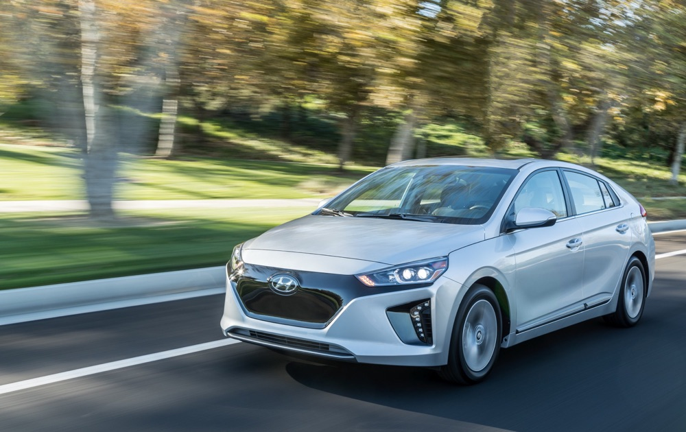 Hyundai Ioniq elettrica autonomia