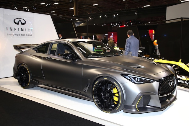 Infiniti Black Project S al Salone di Parigi 2018