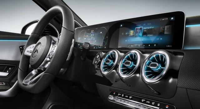 Interni nuova Mercedes Classe A