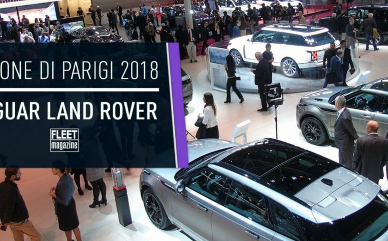 Jaguar Land Rover Salone Parigi 2018