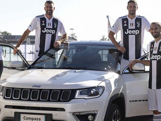 Jeep celebra il record della Juventus