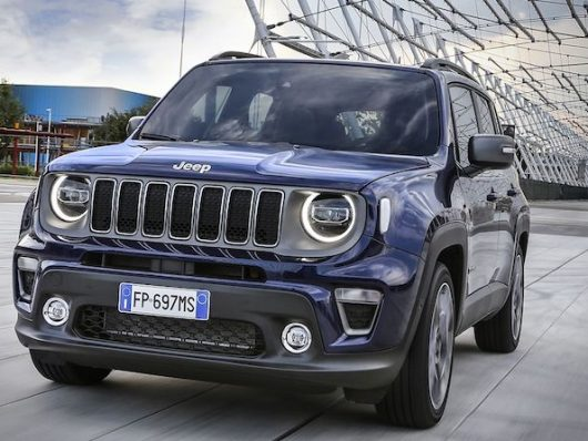 Jeep Renegade ibrida a Melfi