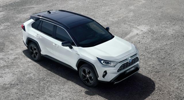 Lancio nuova Toyota Rav4 motorizzazioni ibride