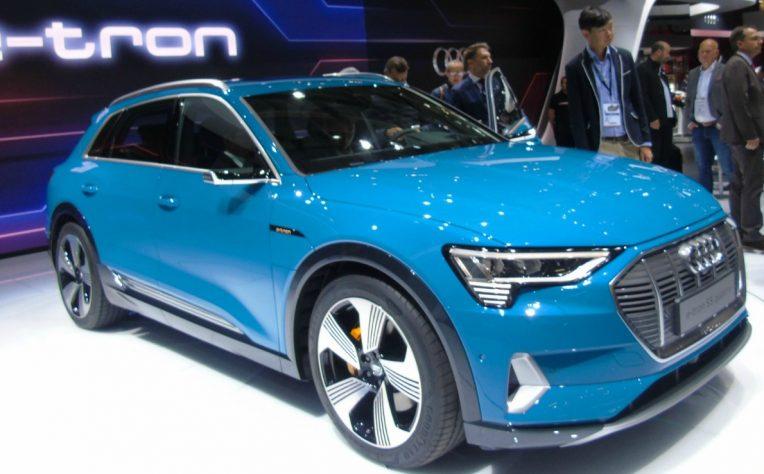 Nuova Audi e-tron Salone di Parigi 2018