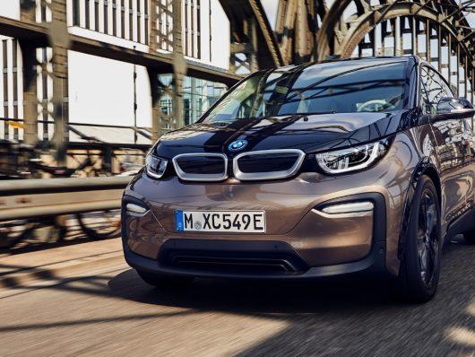 Nuova BMW i3 dinamica