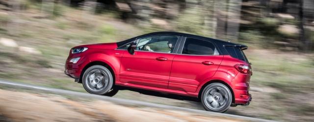 Nuova Ford EcoSport rossa