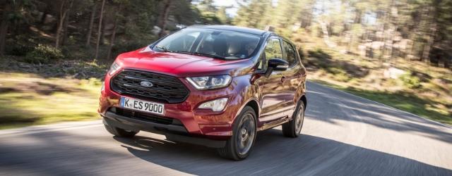 Nuova Ford EcoSport su strada