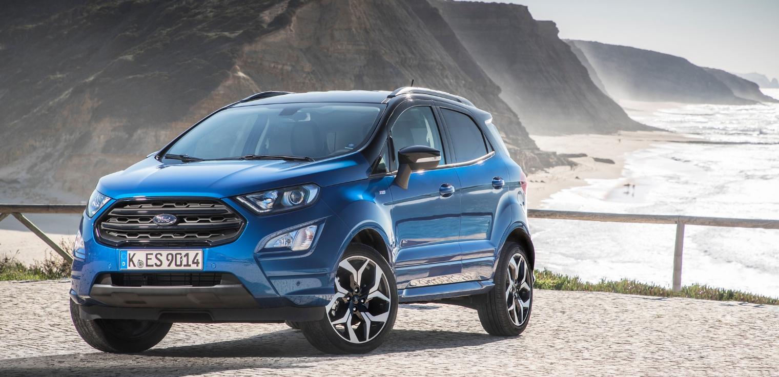 Nuova Ford EcoSport è disponibile anche con trazione integrale