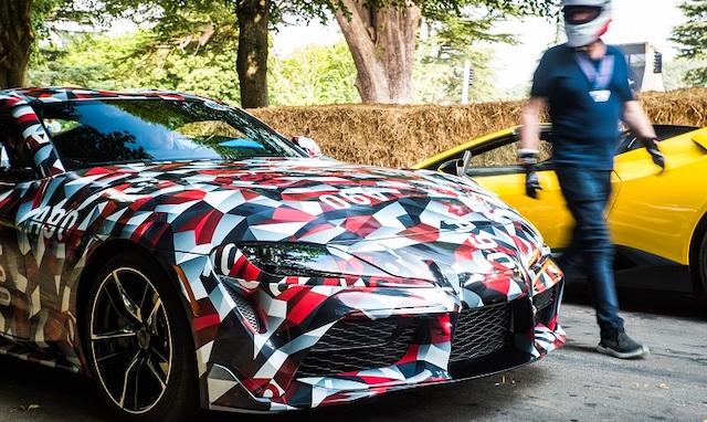 Dimensioni di nuova Toyota Supra
