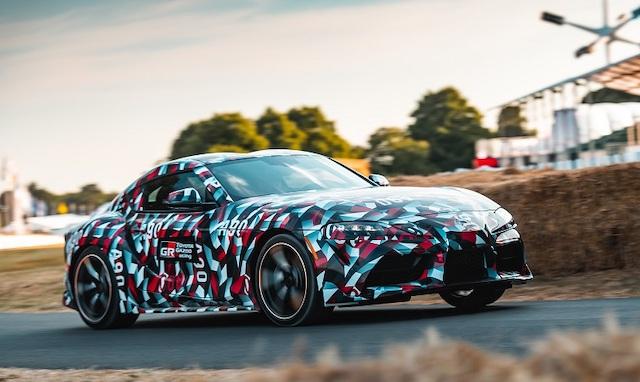 Uscita di nuova Toyota Supra 2019