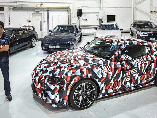 Nuova Toyota Supra 2019
