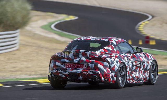 Motore di nuova Toyota Supra