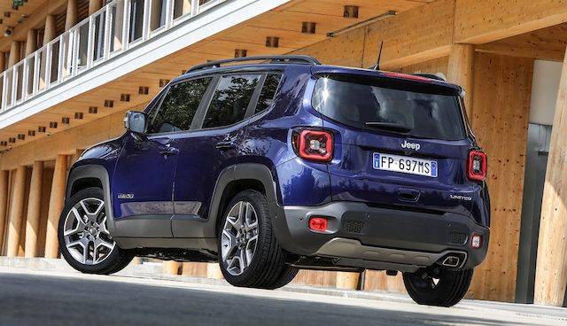 Produzione di Jeep Renegade ibrida